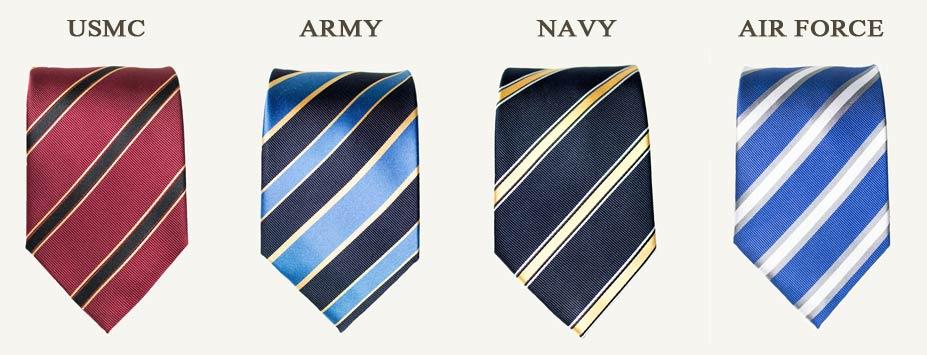 Regimental-Neckties-for-the-US-Military-600 realmenrealstyledotcom