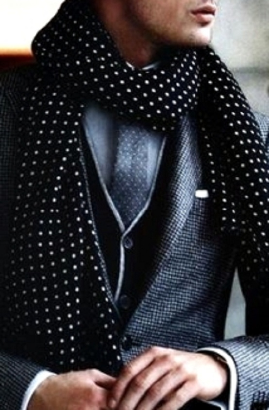 dotted tie and scarf ties-necktie-com
