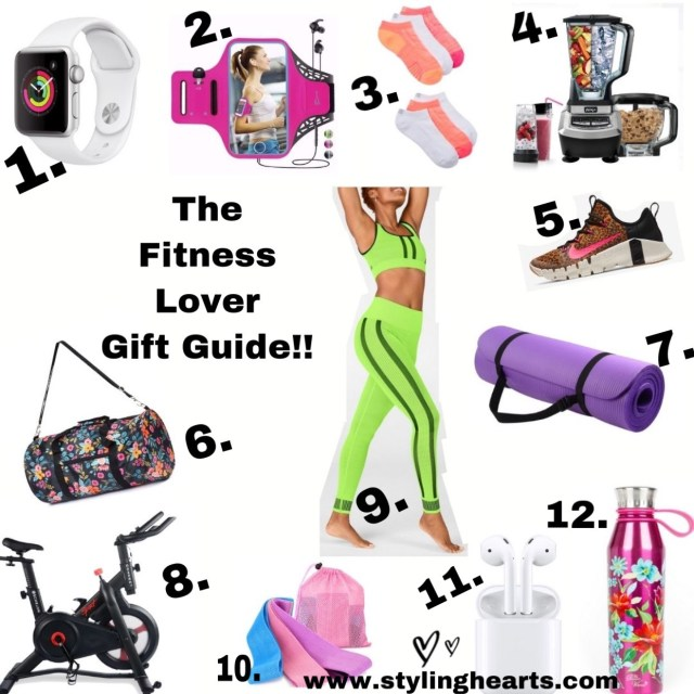Christmas Gift Guide for the Fitness Lover!