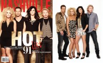 Nashville Lifestyles magazine features Little Big Town. Photos by Kristin Barlowe. Production, styling and design by Katie Jacobs.