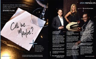Nashville Lifestyles magazine layout and photo styling by Katie Jacobs. Photos by Cameron Powell.