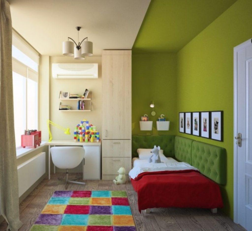покраска стен в квартире в два цвета дизайн фото 7