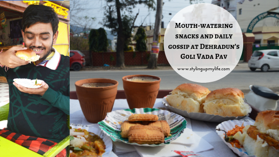 Mouth-watering snacks and daily gossip at Dehradun's Goli Vada Pav