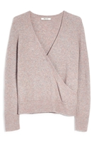 Madewell | Faux Wrap Pullover Sweater (Regular & Plus Size)