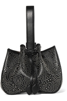 AlaÔa - Studded leather bucket bag