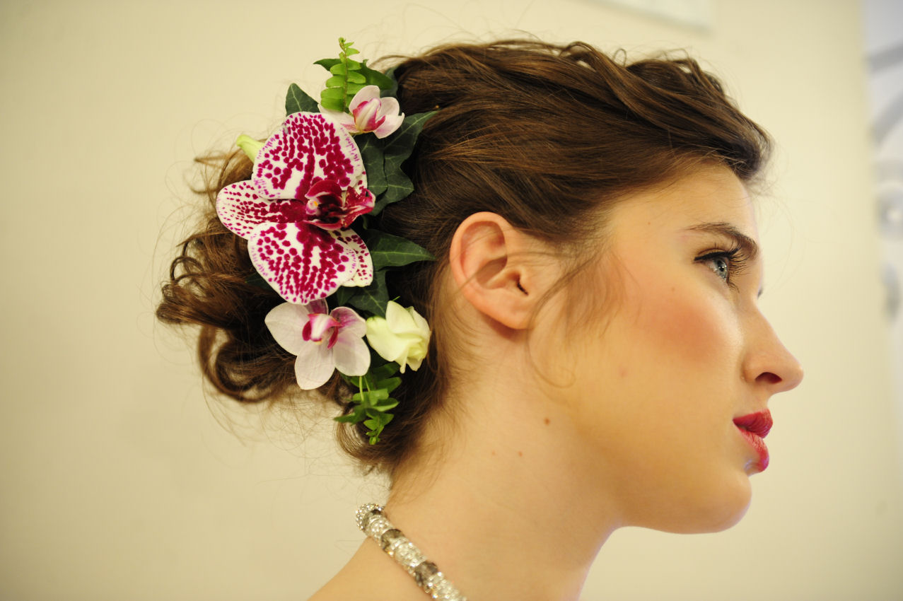 Floral Headpieces for Brides  Sarah Houstons Bridal Blog