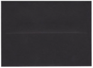Ebony Black Envelope