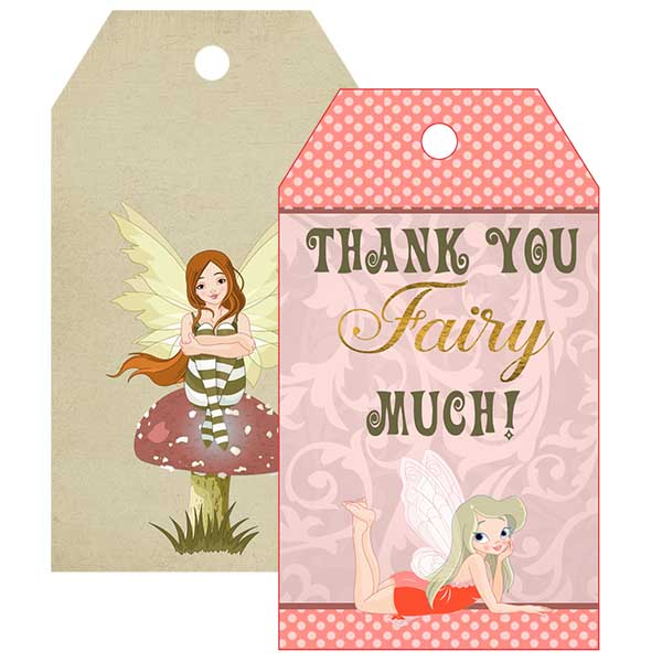 Fairy Gift Tag