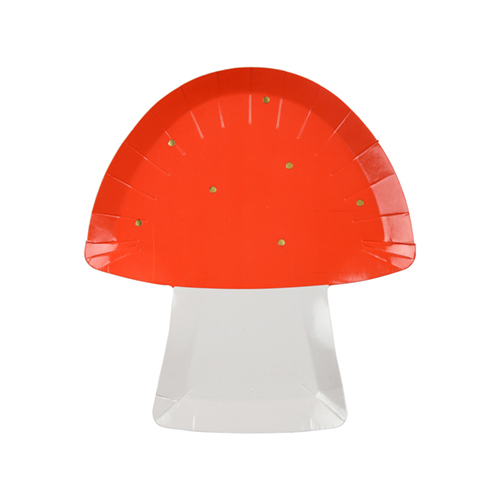 fairy toadstool plate