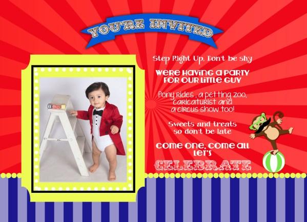 carnival invitation