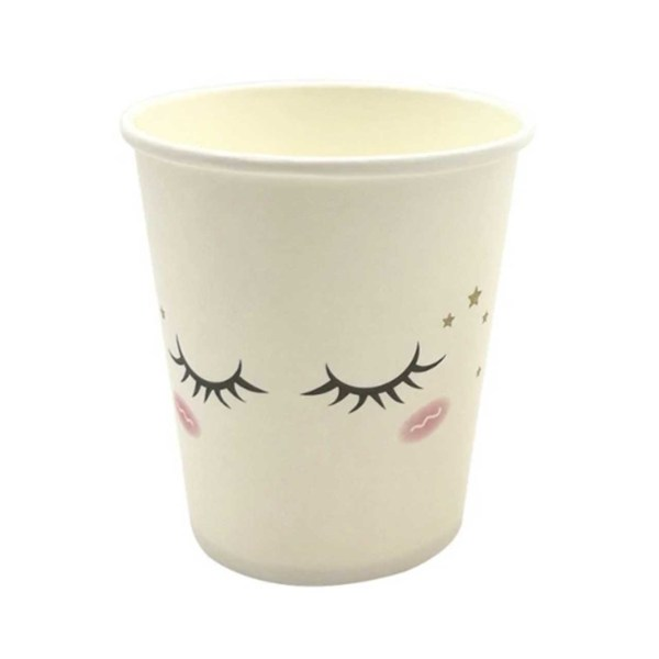 unicorn lashes cup