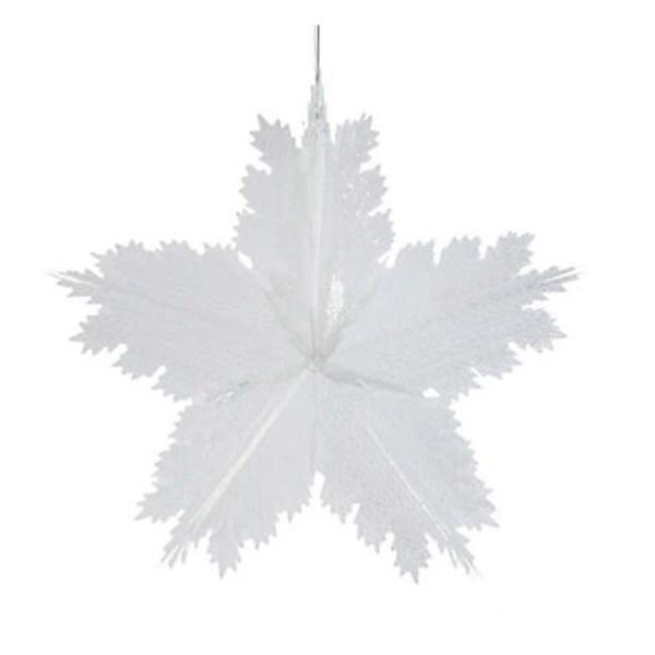 giant snowflake decor