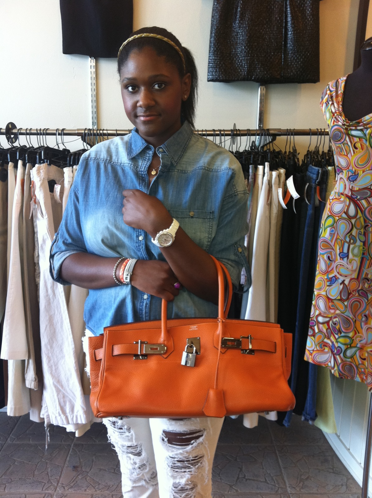 Hermes Shoulder Birkin Stylish Faith