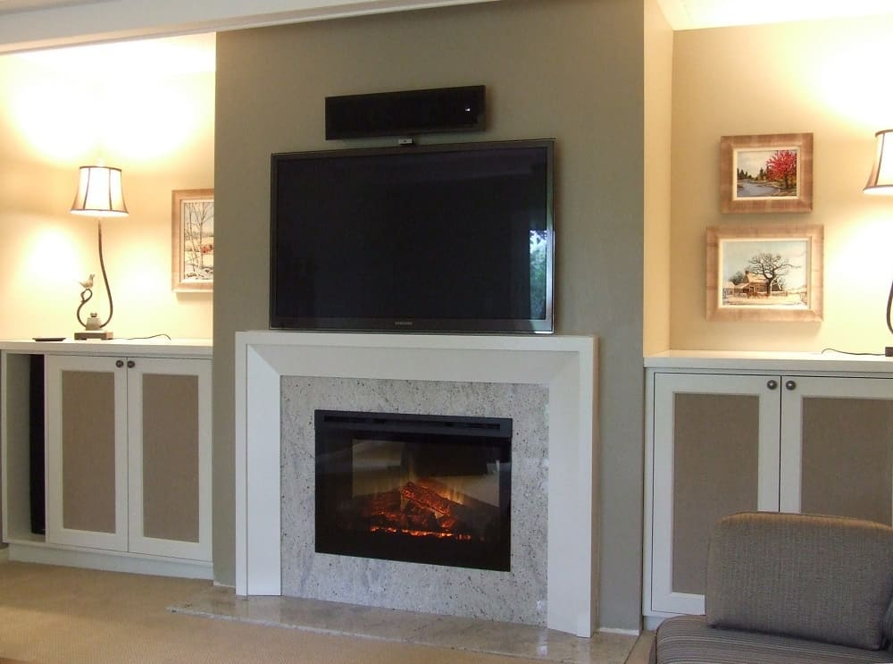 Cover Fireplace With Drywall How To Convert A Wood-burning Fireplace To Electric