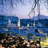 Baśniowy jarmark świąteczny w Salzburgu ...