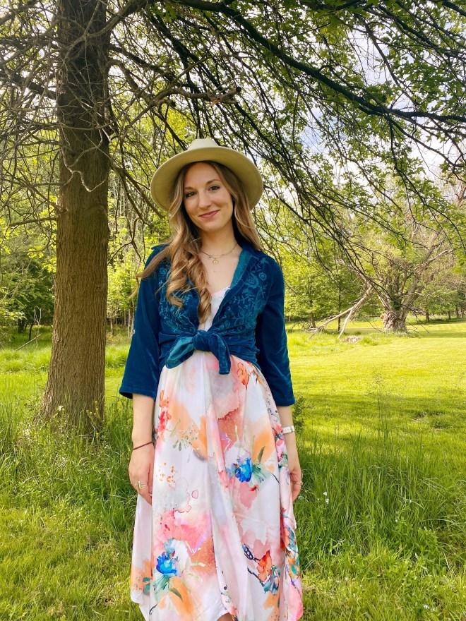 Love Kyla Handkerchief Dress