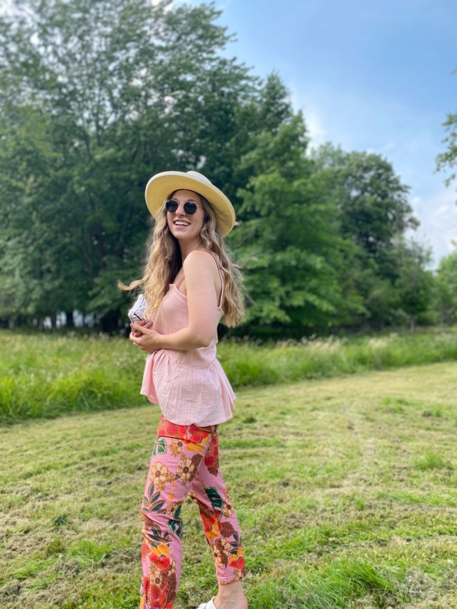Pink Monochromatic Outfit