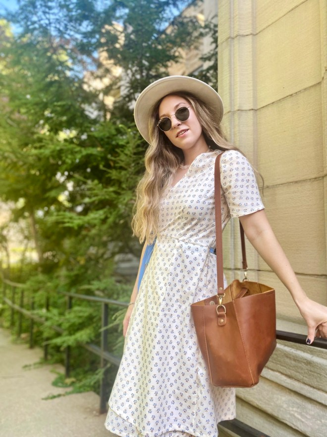 The Willow Wrap Dress