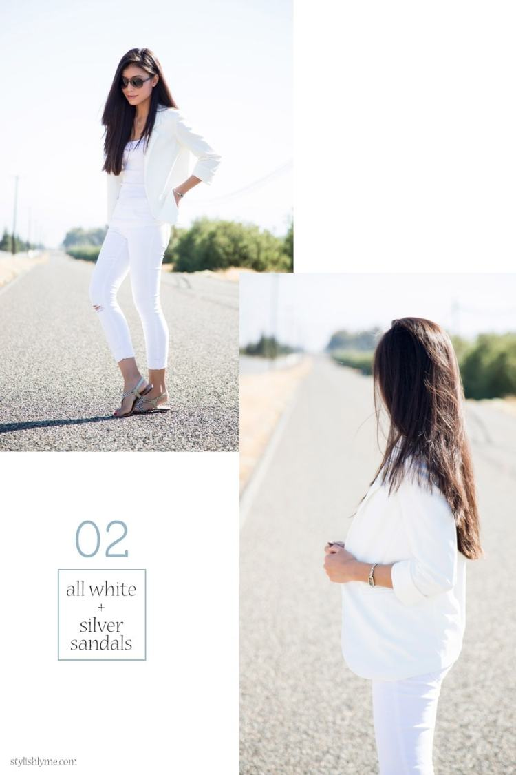 All White jeans Outfit - 15 Stylish Ways to Wear White Jeans