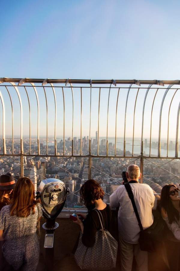 Empire State Building Observatory Deck