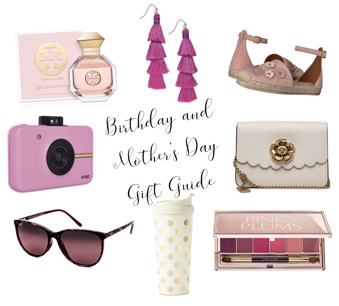 Birthday and Mother's Day Gift Guide