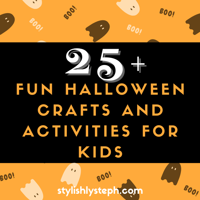 25+ Fun Halloween Crafts and Activities for Kids