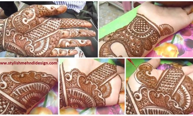 Mehandi Designs Easy And Simple Full Hand