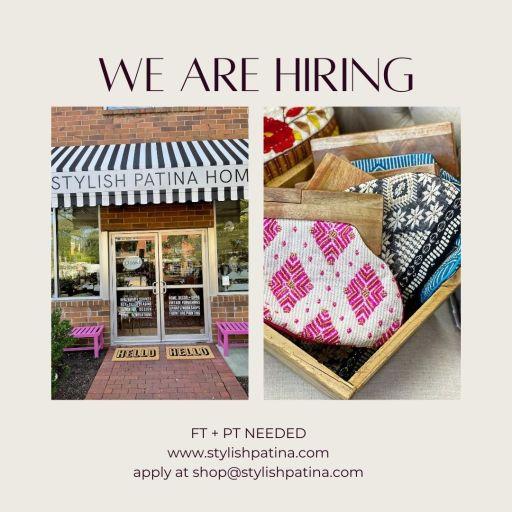Stylish Patina in Falls Church Va is hiring!