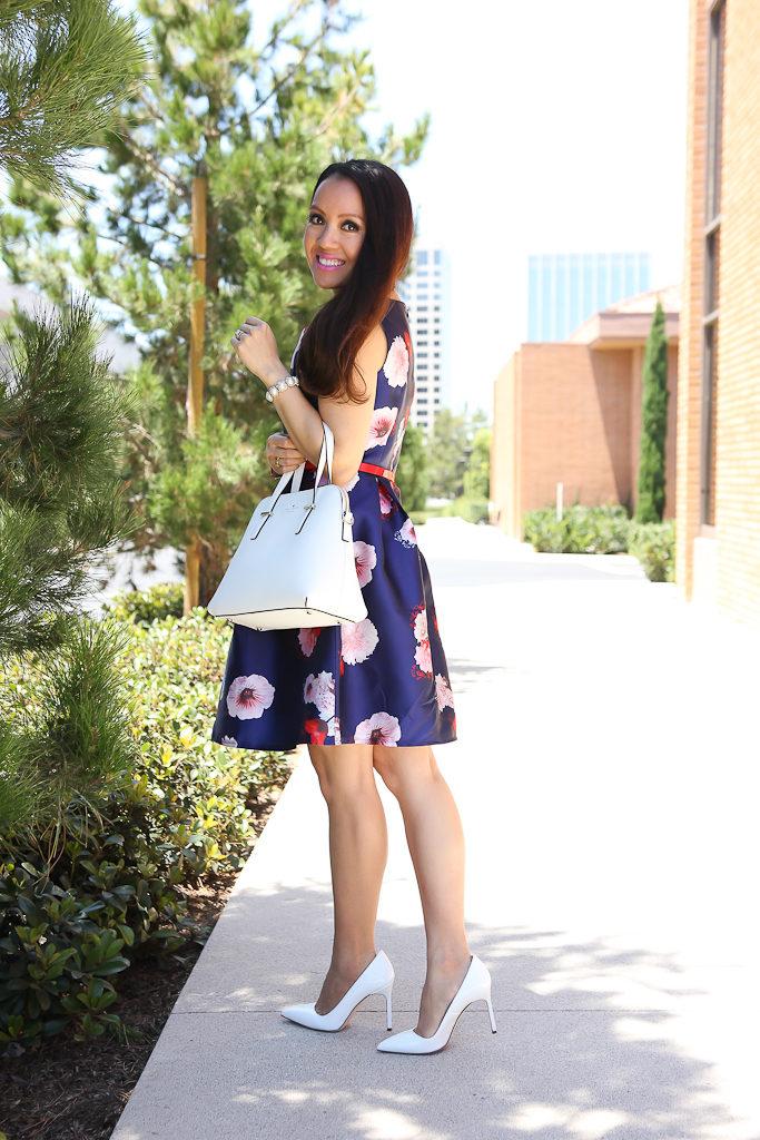 Floral Dress Pumps For Women