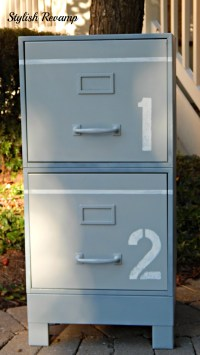 30 Innovative Spray Painted File Cabinets | yvotube.com
