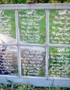 windowpane seating chart gives unique twist to your average escort board at wedding reception and is quick simple make also diy vintage style inspirations rh stylishsoiree wordpress