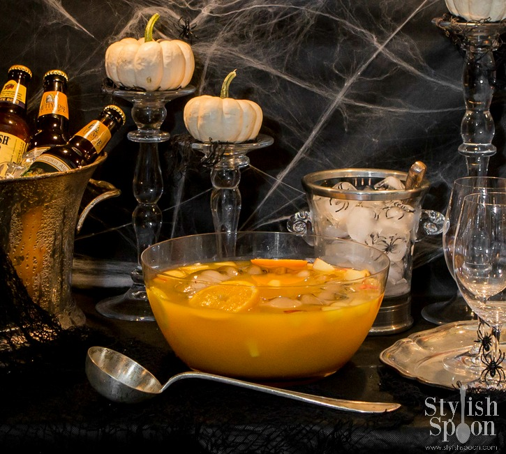 Recipe  Spooky Citrus Sangria Halloween Drink  Stylish Spoon