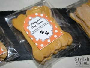 DIY  Homemade Holiday Gift Pumpkin Dog Treats Recipe