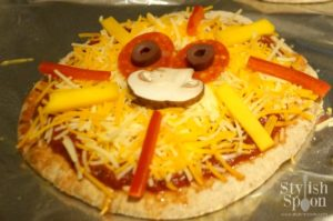 Kids Parties  Jungle Theme Lion Pita Pizzas  Stylish Spoon