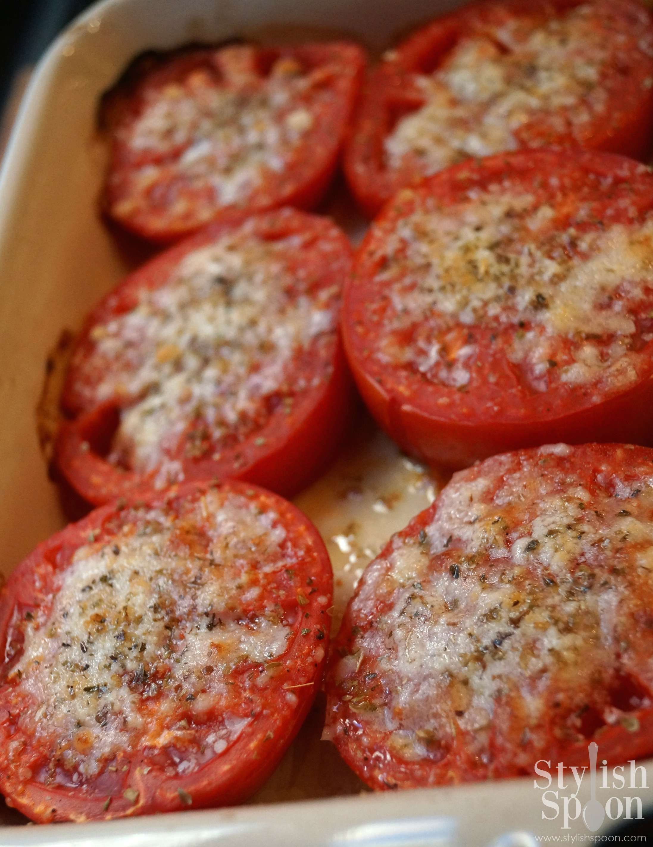 Recipe  Parmesan Baked Tomatoes  Stylish Spoon