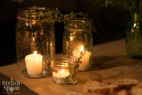 DIY :: Herb Mason Jar Candle Holders - Stylish Spoon