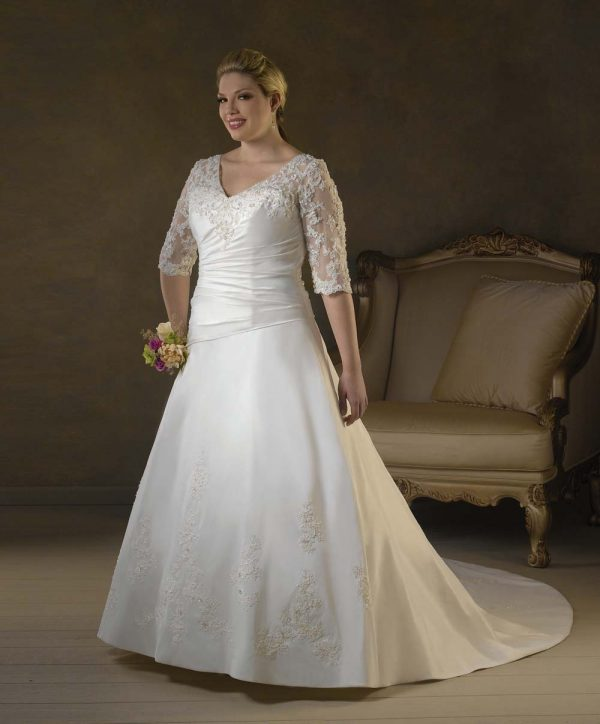 Plus Size Wedding Dresses 2012