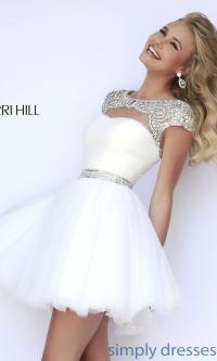7 amazing short white prom dresses - stylishwomenoutfits.com