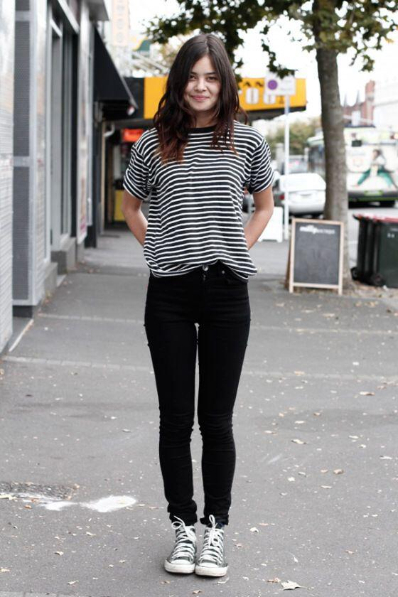 11 Casual Fall Outfits With Converse Shoes Page 11 Of 11