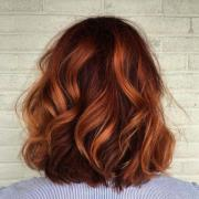 amazing copper red hair color