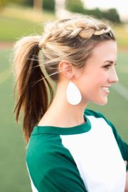 sporty ponytail hairstyles