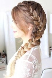 glorious french braid hairstyles