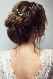 romantic rustic wedding hairstyles