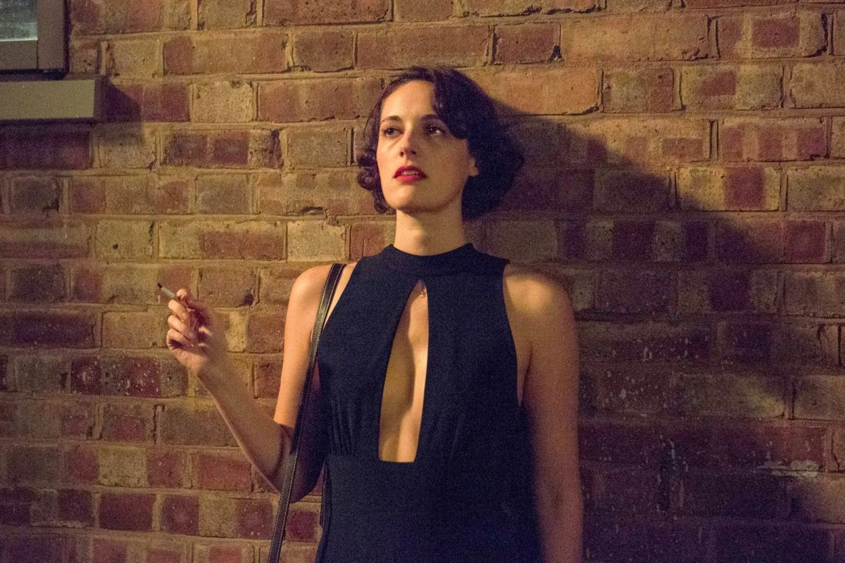 Buy Fleabag Black Jumpsuit worn by Phoebe Waller Bridge