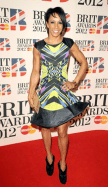 Dame Kelly Holmes BRIT Awards 2012