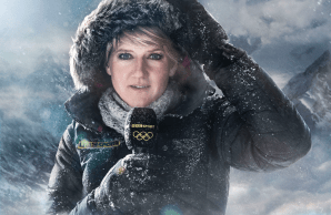 Styling for Sochi 2014 Winter Olympic Games - Coverage on BBC 2 / February 2014 (Clare Balding)