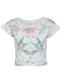 Miss Selfridge printed crop top, £18