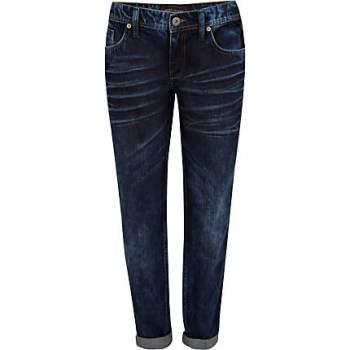 River Island Dark Denim Boyfriend Jeans Was £45 Now £25