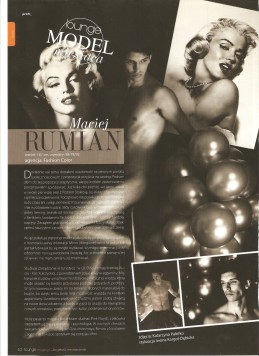 """LOUNGE Magazine - """"Model of the Month"""""""