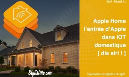 Apple Home : l'application domotique pour iPhone